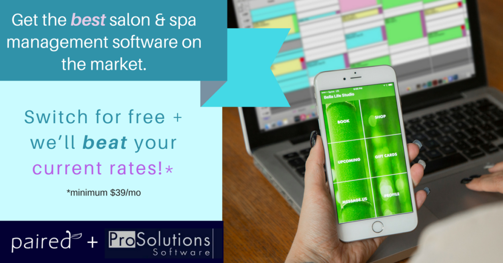 Home prosolutions salon software prosolutions spa and for Salon solutions